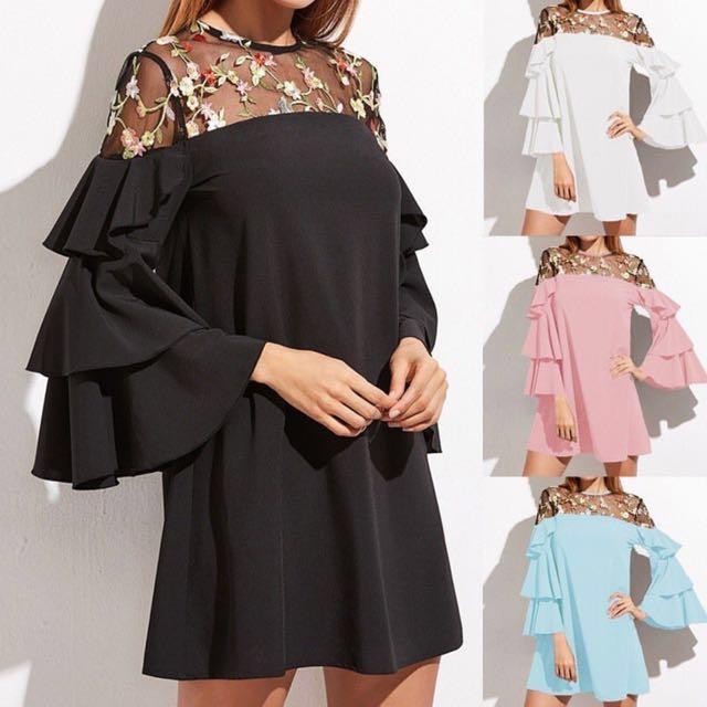 #MidJan55 Plussize Dress 3XL