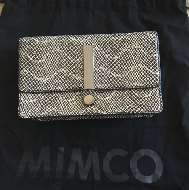 Mimco Exclamation clutch