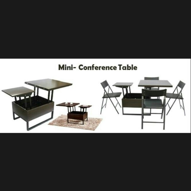 Mini Conference Table Home Furniture On Carousell - Mini conference table
