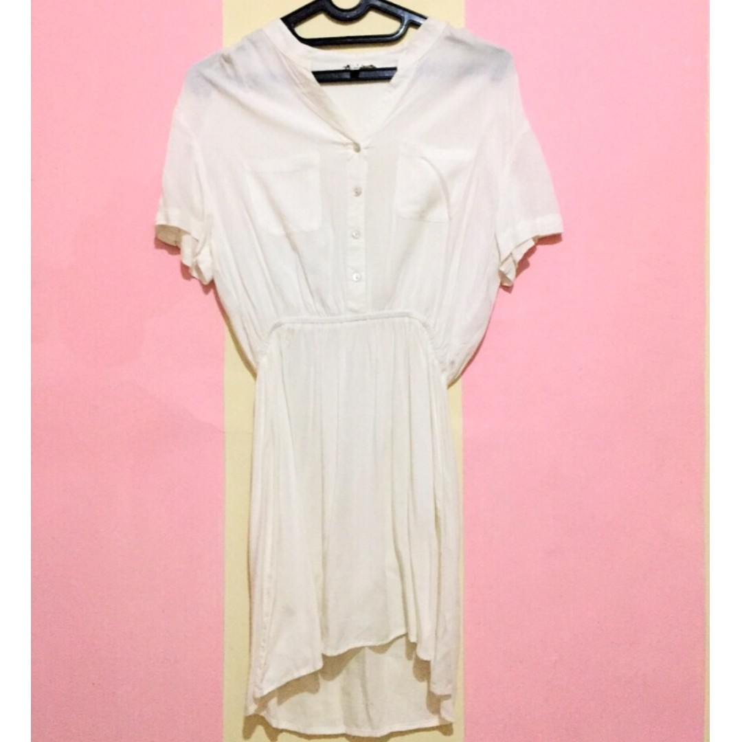 Mini Dress White