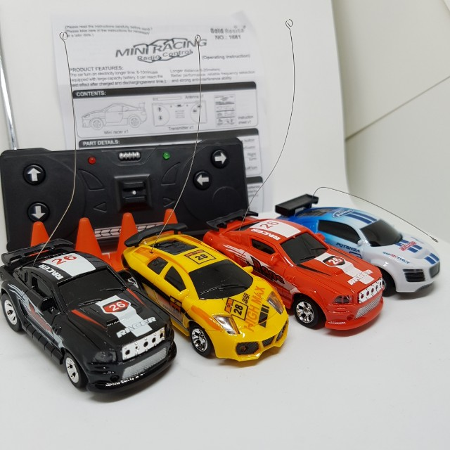 Mini RC Racing Car Remote Control Coke Can