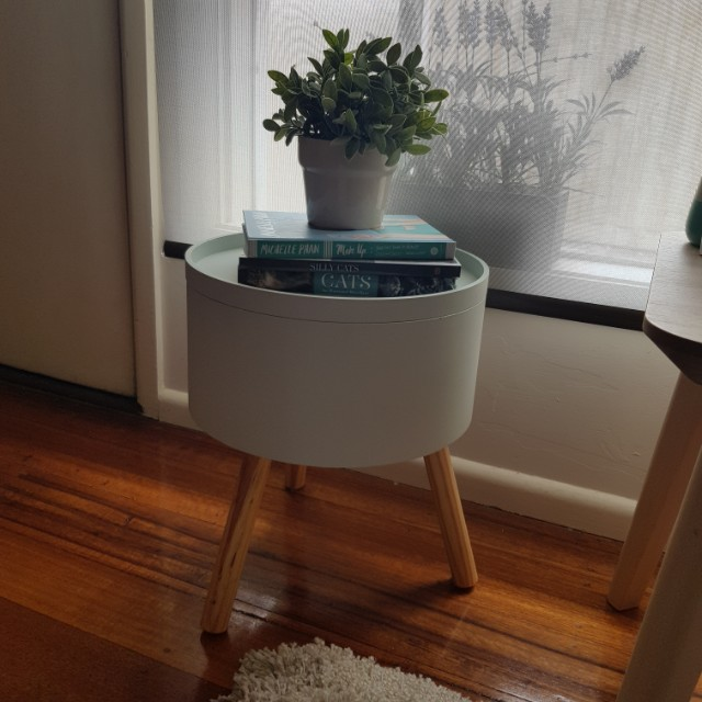 Mint Green Scandi Style Side Table