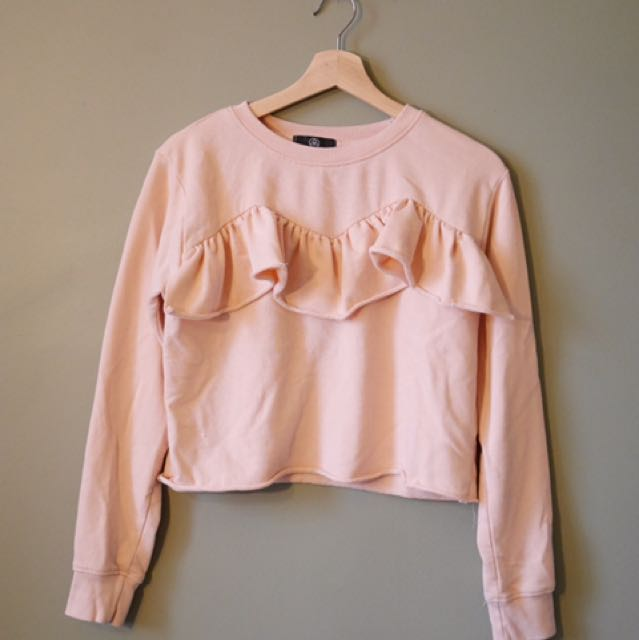 Missguided pink top