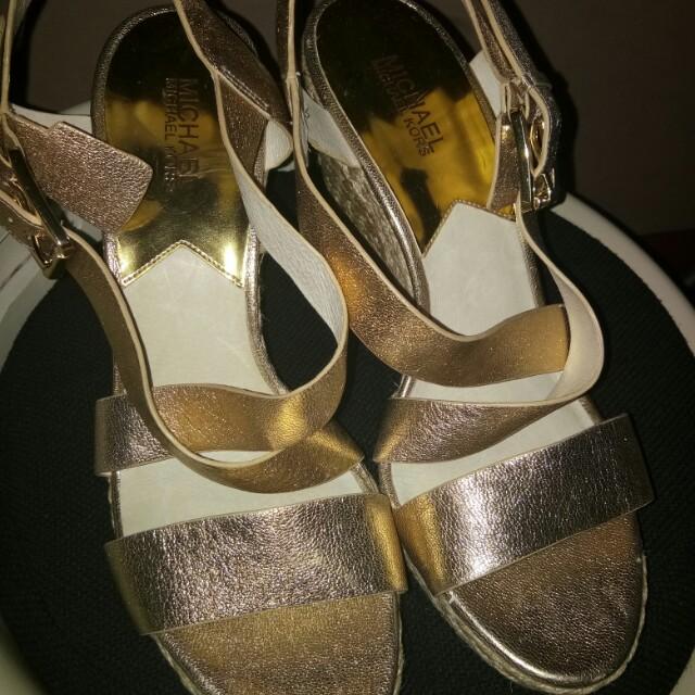 Authentic MK high heel sandal
