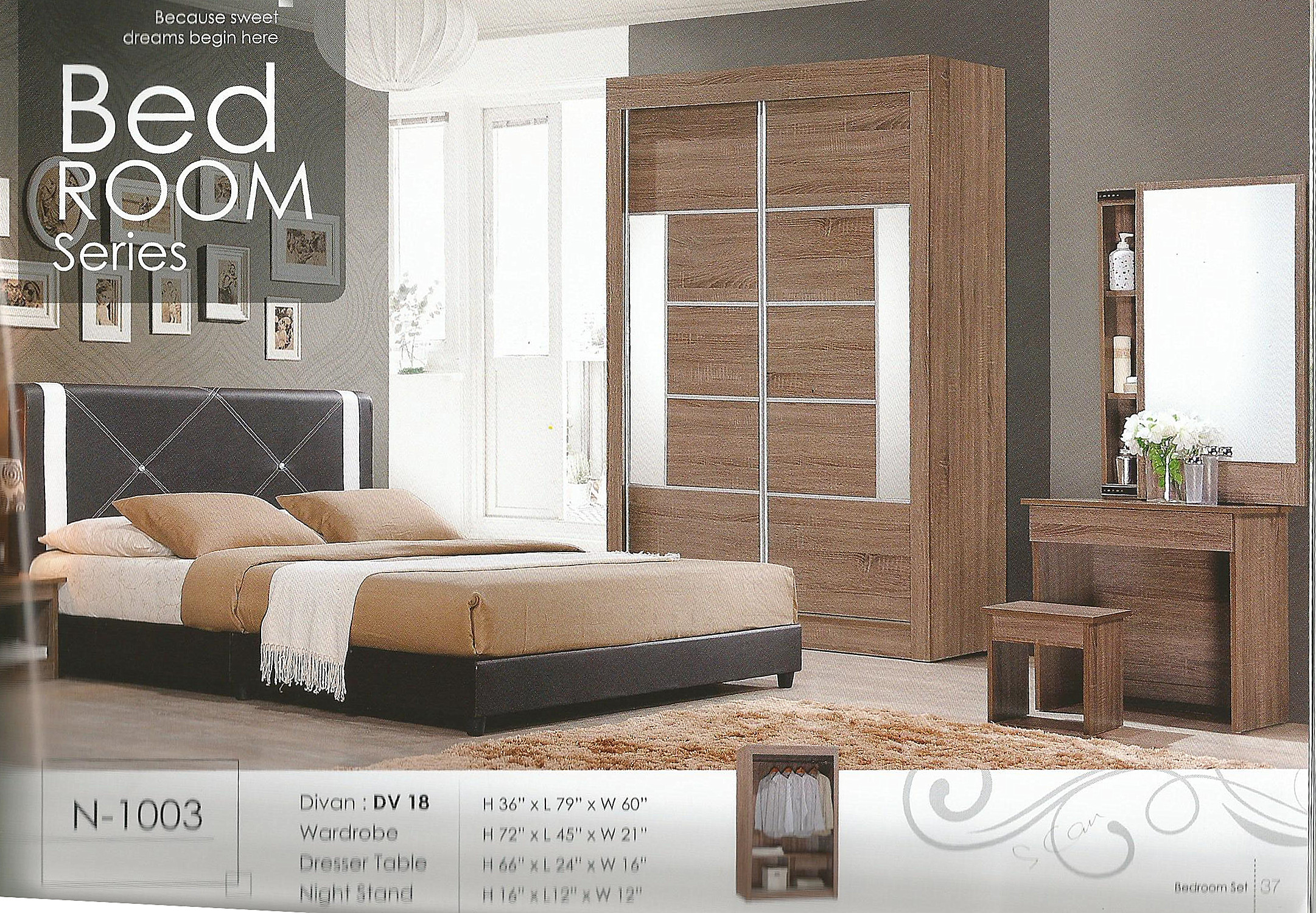 Murah Set Bilik Tidur Model N1003 Home Furniture On Carou