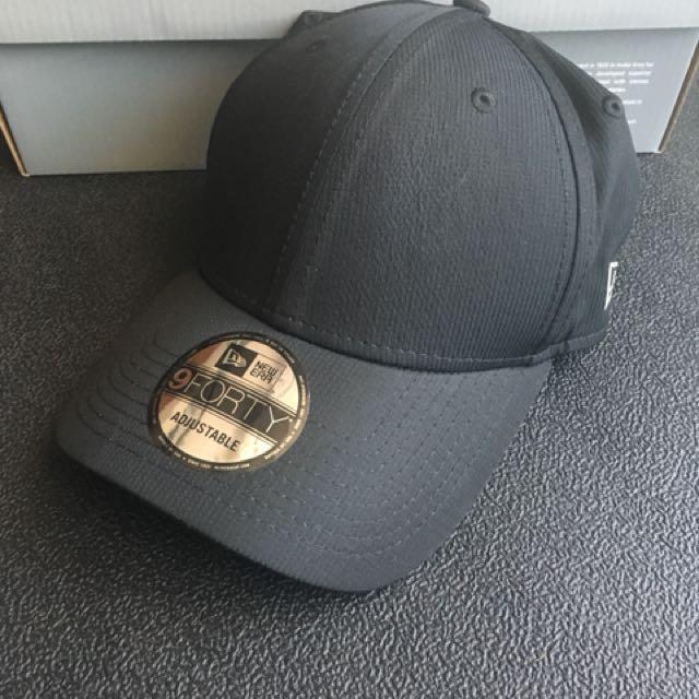 New era 全黑反光 帽
