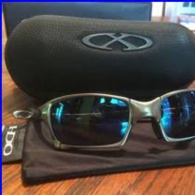 Oakley Xmetal Ice and fire lenses