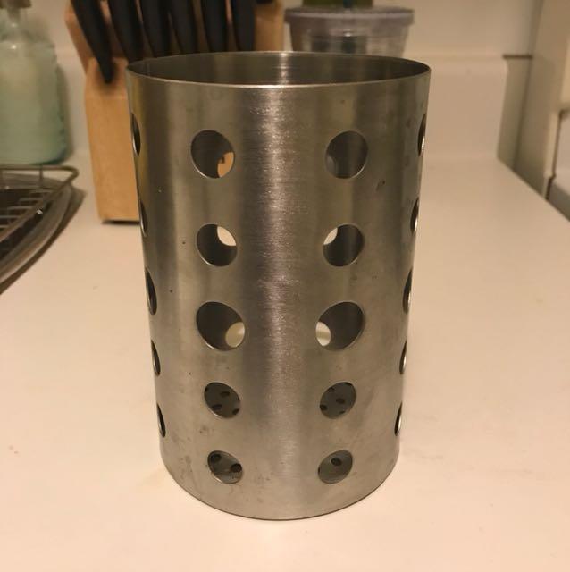 Oneida stainless steel utensil holder
