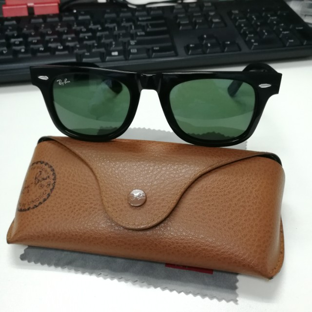 Original Ray Ban wayfarer green lens