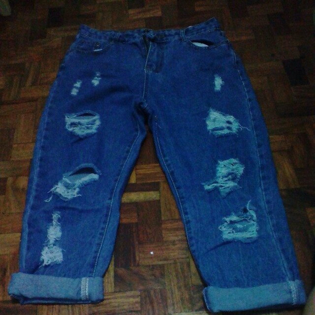 Over runs jeans