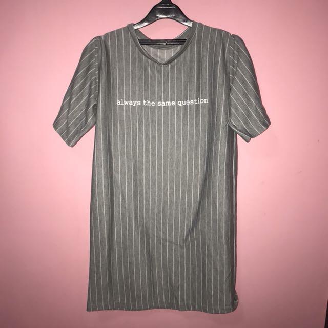 Oversized T-shirt (terusan)
