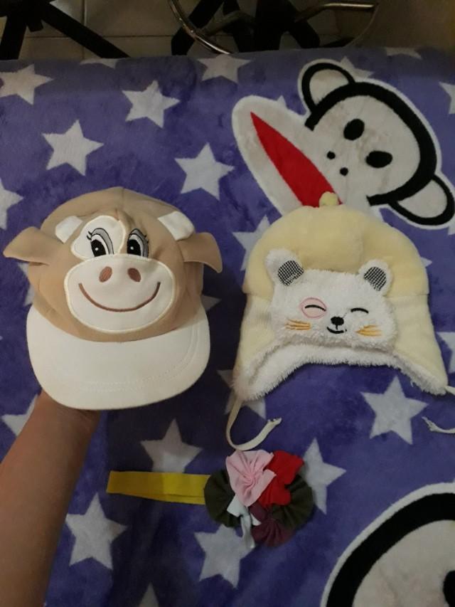 Paket topi bayi murah