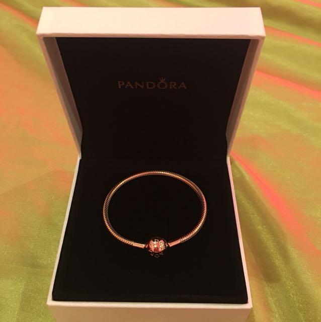 Pandora Rose Snake bracelet