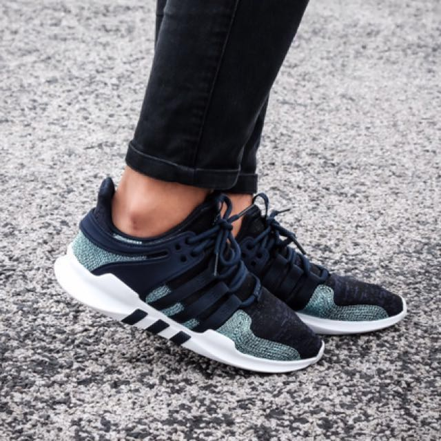 sale retailer 57cba 9cf4f ... lower price with 3a2e6 d0dc0 Parley x Adidas EQT Support ADV - NavyIcey  Blue, Mens ...