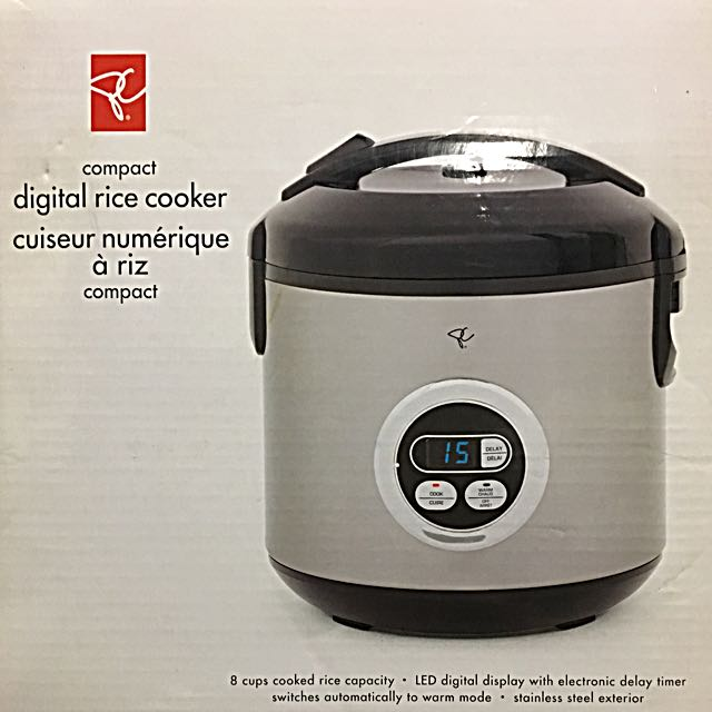 PC compact digital rice cooker