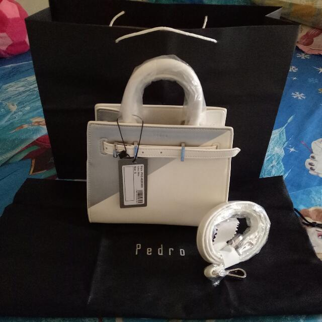(NEW) ORIGINAL STORE PEDRO White Belt Bag