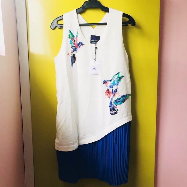 Plains and Prints Tropical Dress w/tag brandnew (Medium)