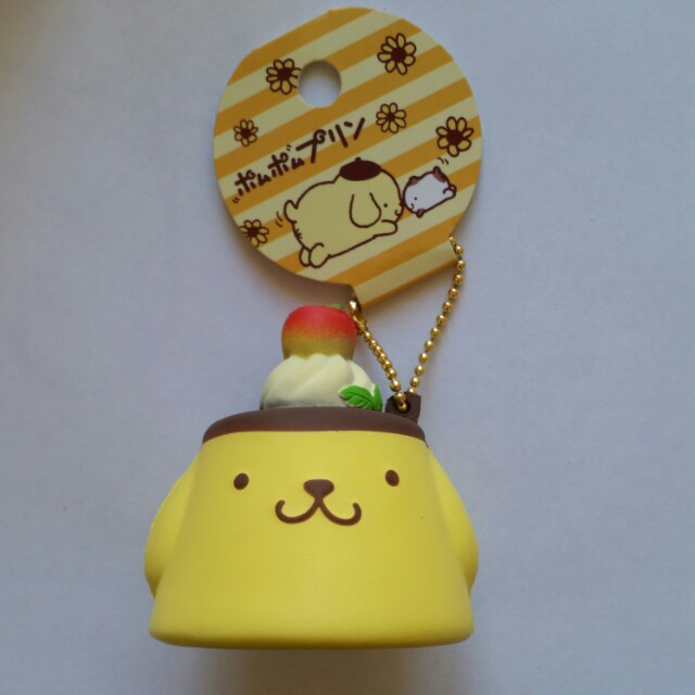 Pom Pom Purin Pudding Squishy