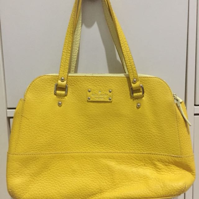 preloved kate spade lainey grove court yellow