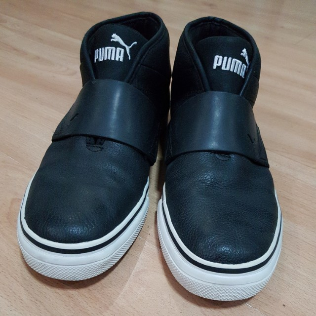 Puma high cut leather sneakers