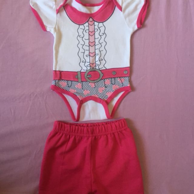 Pure Baby Girl Terno 0-3mos @150