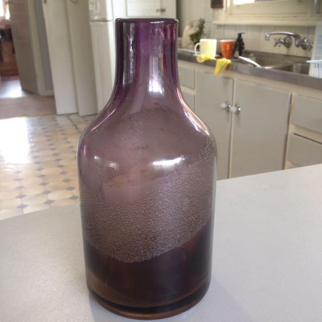Purple ombré vase