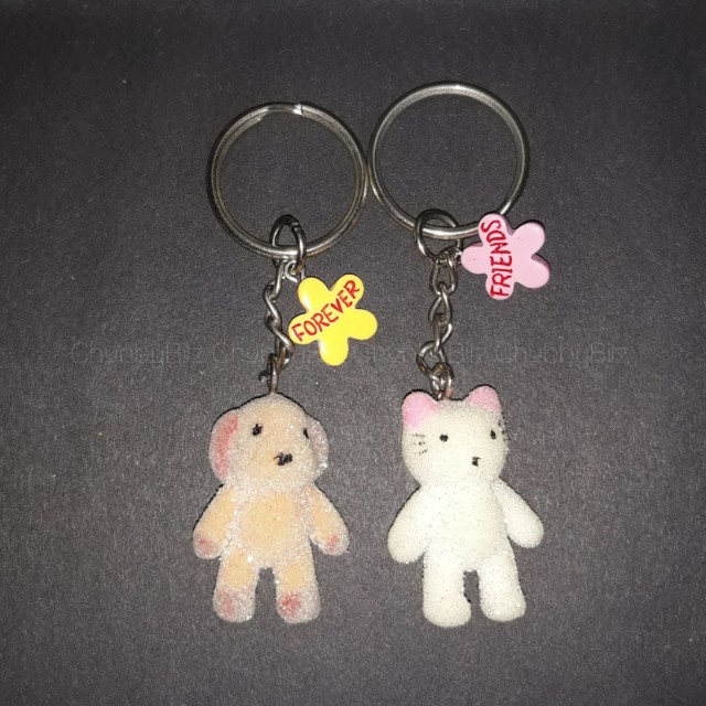 Repriced: Friends Forever keychains