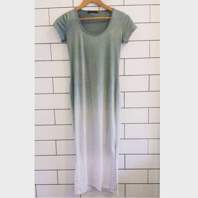 Saint Grace Midi Ombré Dress