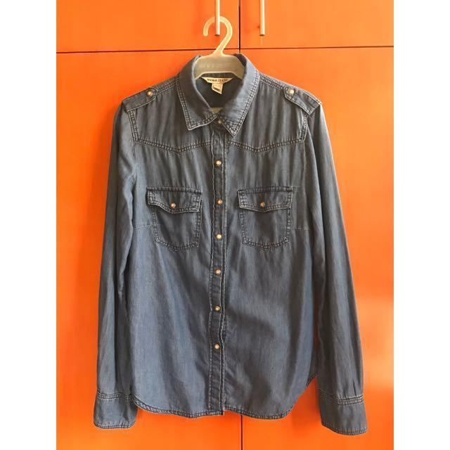 SALE: Mango Chambray Shirt