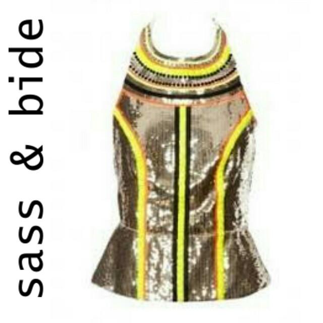 Sass & Bide 'a perfect example' sequin top 6