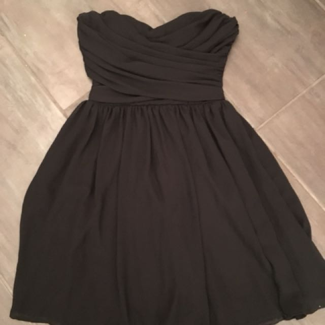 Seven Sisters (M Boutique) Black Strapless Dress