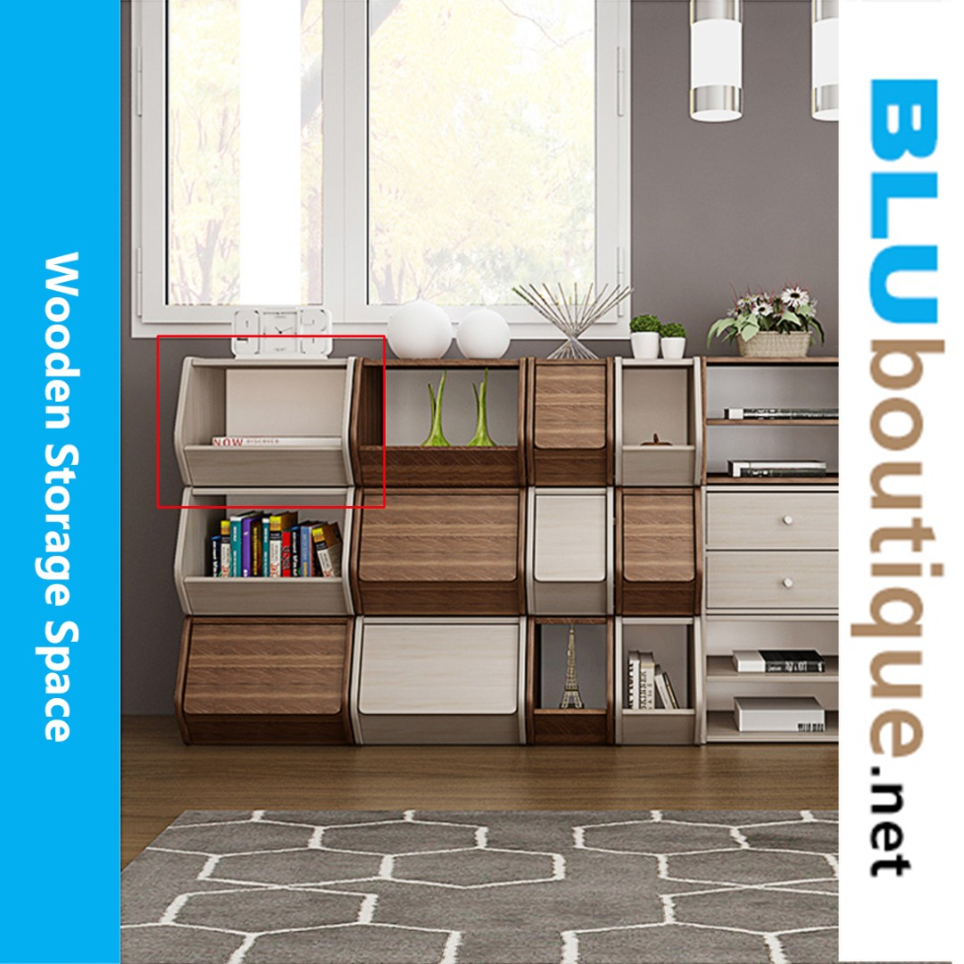 Simple wooden cabinet WC003 #not ikea (2 sets only)