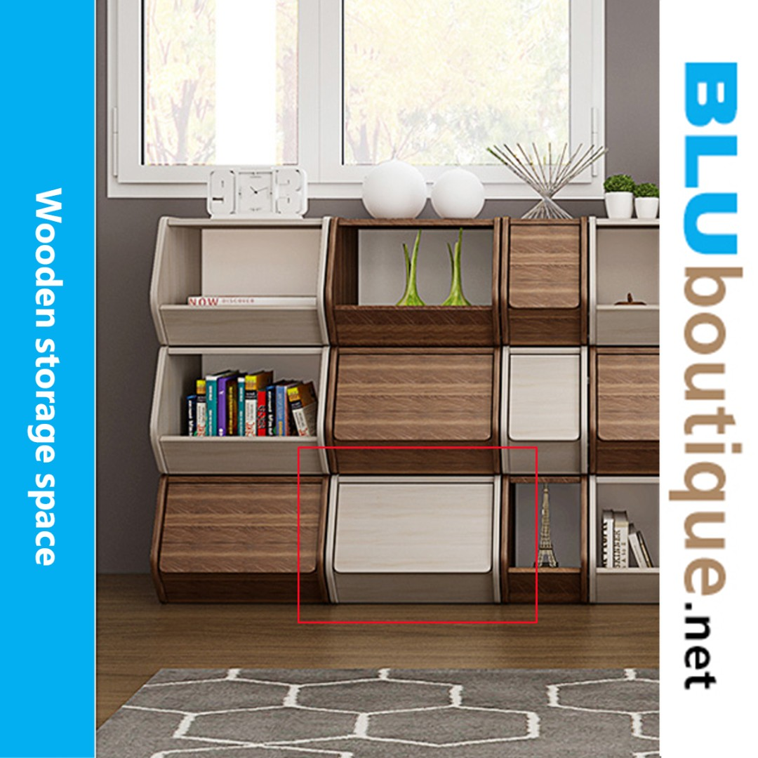 Simple wooden cabinet WC004 #not ikea (1 set only)