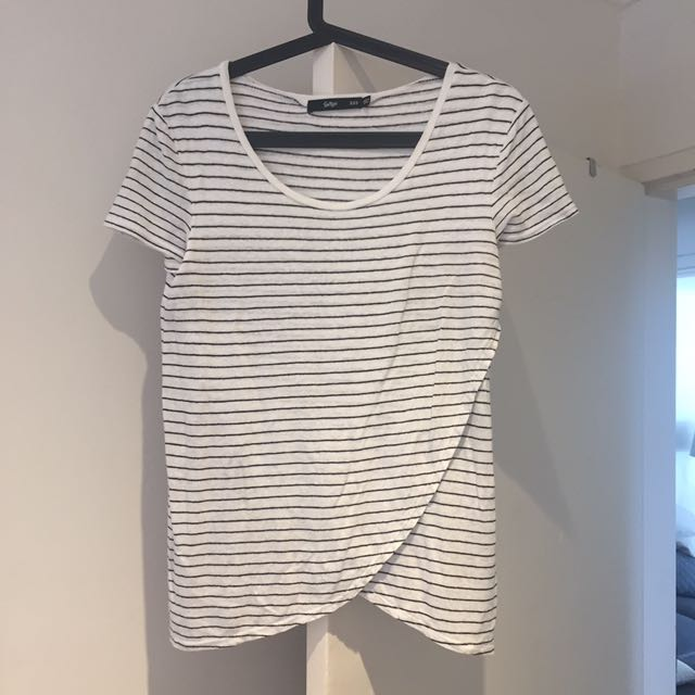 Sportsgirl striped t shirt