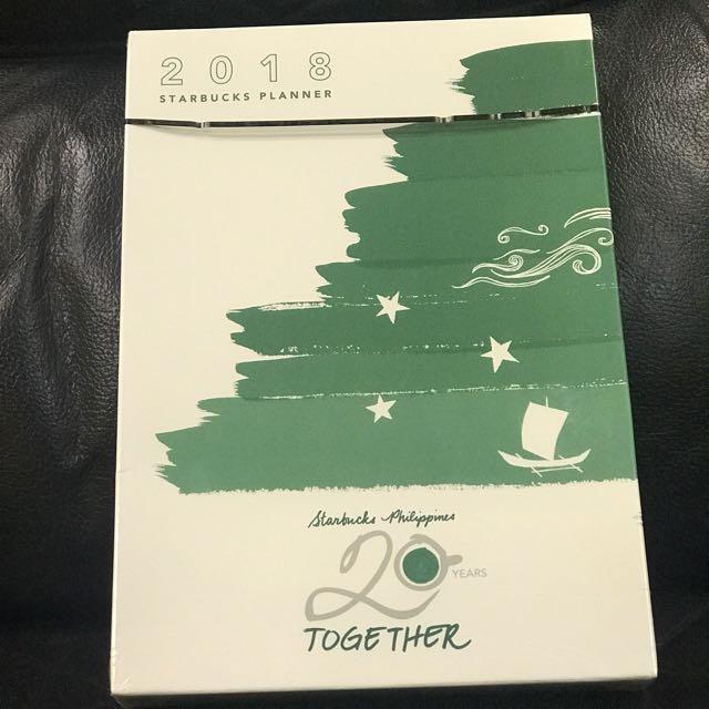 Starbucks 2018 Planner (Big)