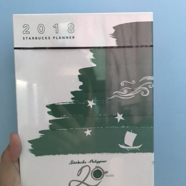 Starbucks Large Green Planner 2017