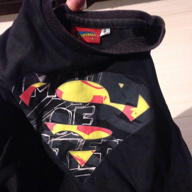 Superman Shirt Size 6