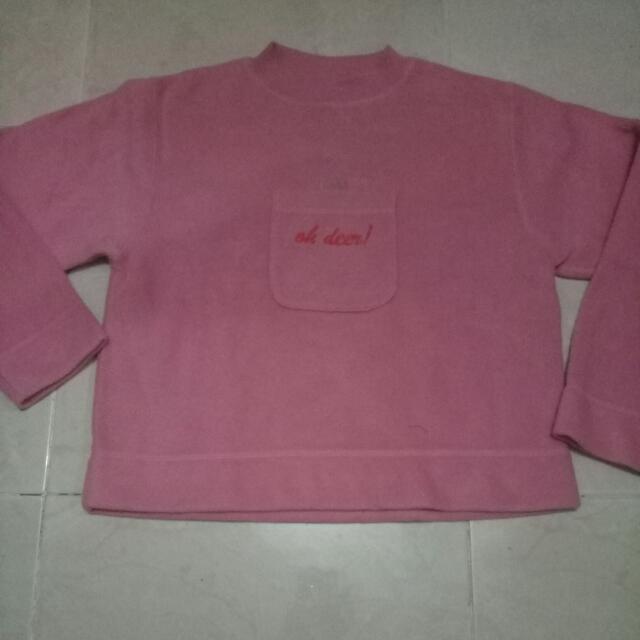 Sweater Pink Oh Deer Brand Mini Star