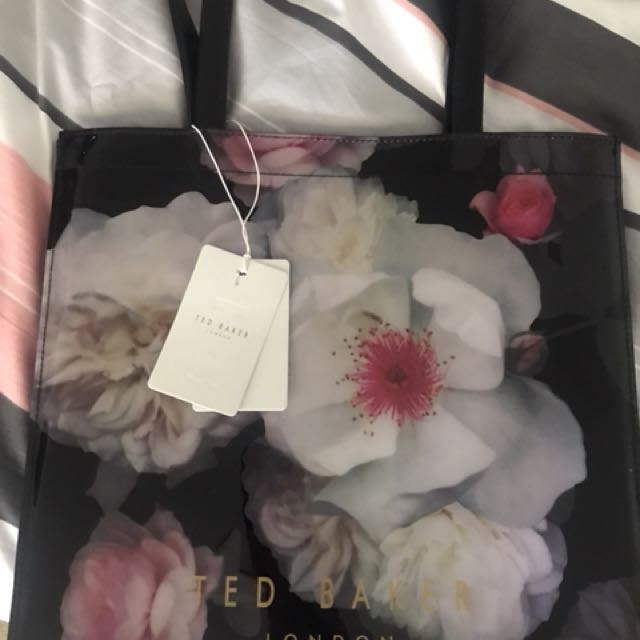 Ted Baker Chelsea Print Large Icon Bag
