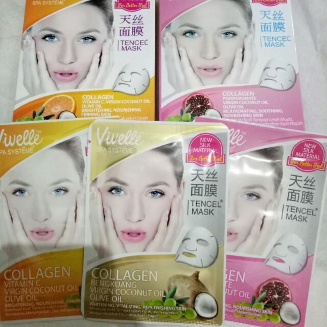 Tencel Mask (masker wajah)