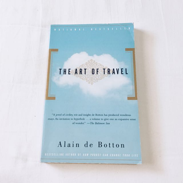 The art of travel Alain de Botton