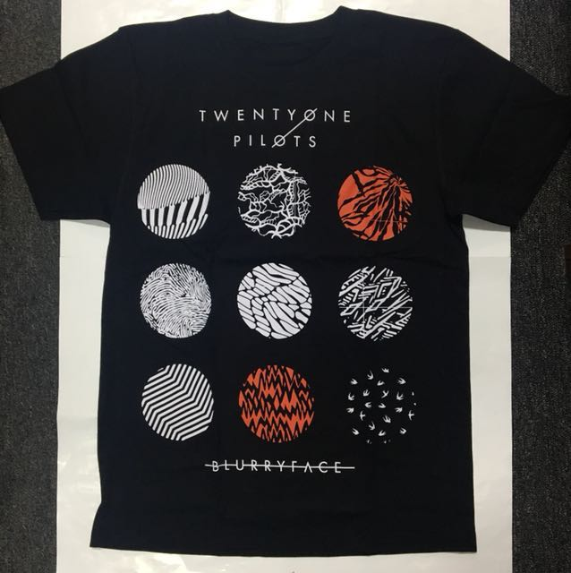 Twenty One 21 Pilots Blurryface T Shirt Band Merch S M Music