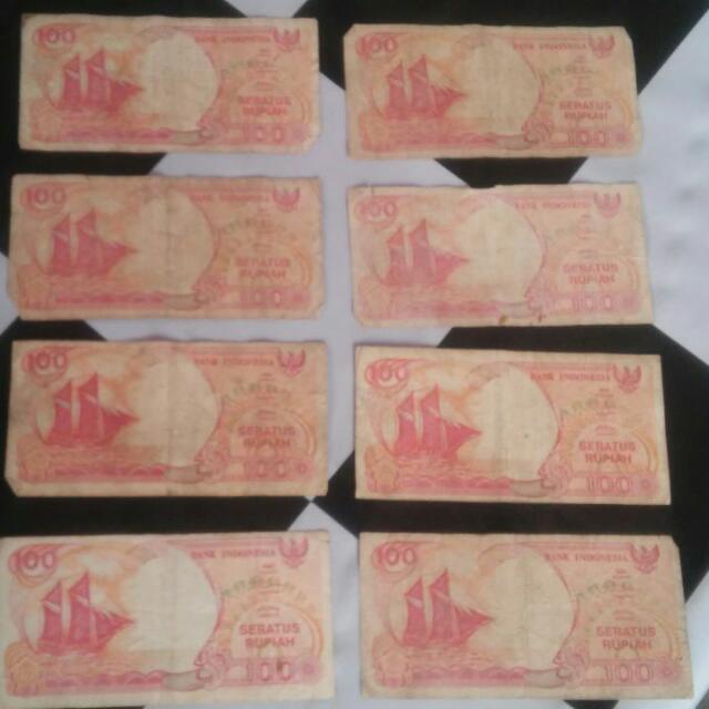 Uang Kertas Seratus Rupiah