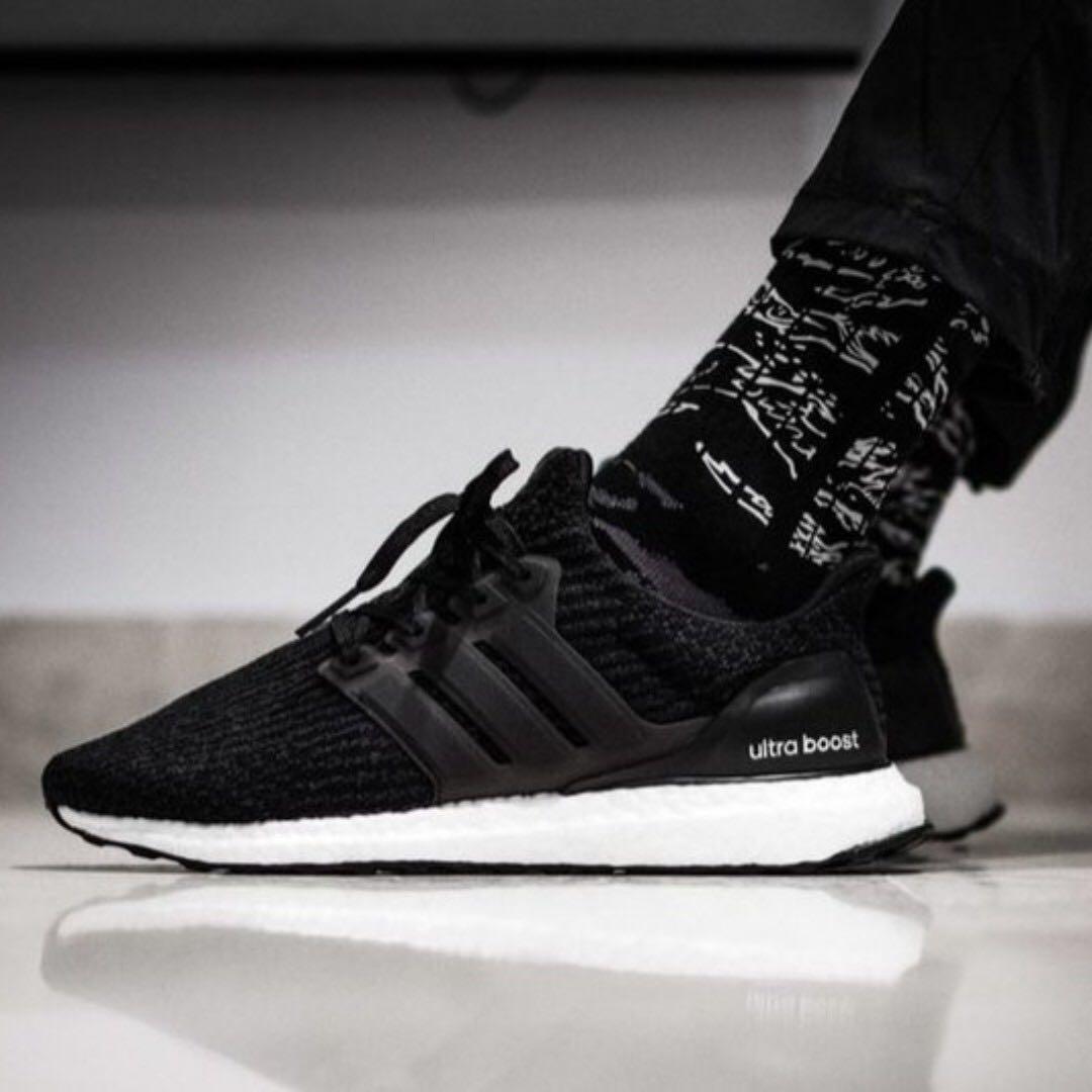 badecc1b69d11 best choice mens adidas ultra boost 4.0 reversed oreo bb6179 black ...