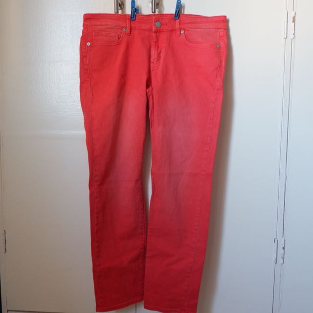 Uniqlo Light Red Jeans
