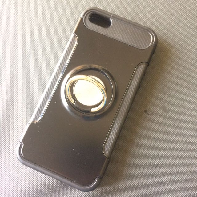 Used iPhone 5 / 5s Casing with finger ring