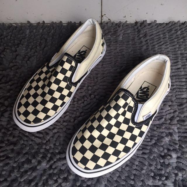 Vans Slip On Checkerboard Women