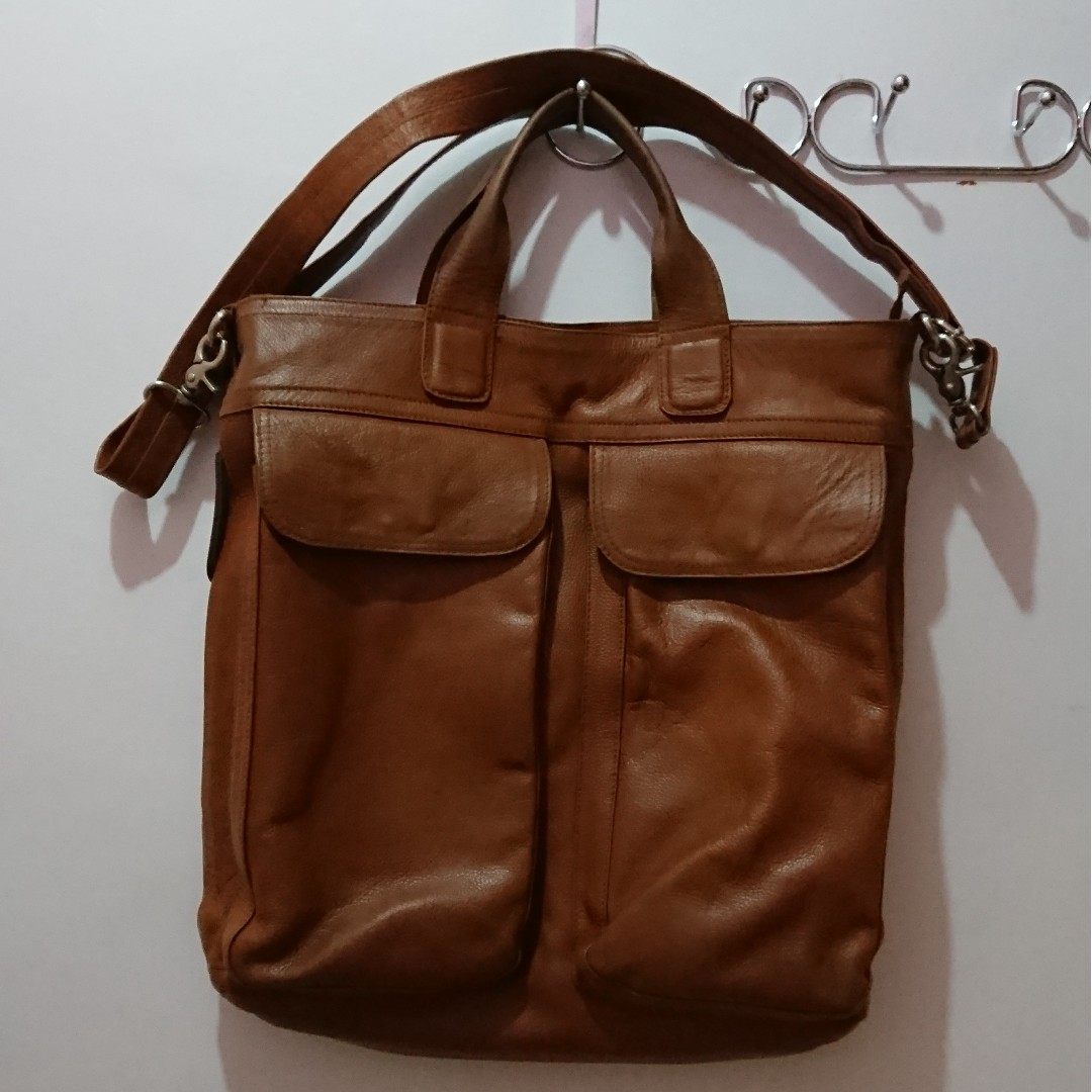 Vedasto Leather Bag