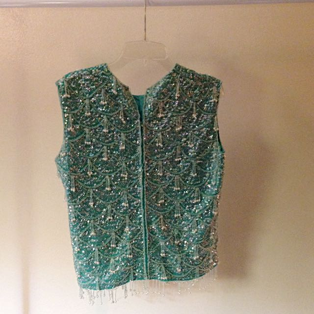 ✨Vintage beaded vest from Hong Kong