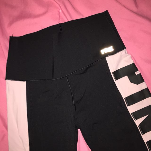 VS PINK bonded leggings